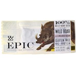 Эпик Бар, Wild Boar with Uncured Bacon Bar, 12 Bars (1.5 oz (436) Each отзывы