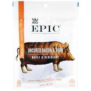 Эпик Бар, Uncured Bacon & Pork with Maple & Blueberry Bites , 2.5 oz (71 g) отзывы