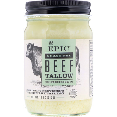 Купить Epic Bar Жир из говядины травяного откорма, 11 унций (312 г)