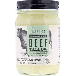 Epic Bar, Grass Fed Beef Tallow, 11 oz (312 g)