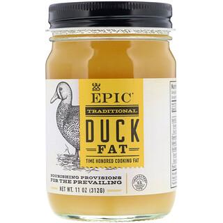 Epic Bar, Graisse de canard traditionnelle, 312 g (11 oz)