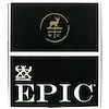 Epic Bar, Venison Sea Salt Pepper Bar, 12 Bars, 1.5 oz (43 g) Each