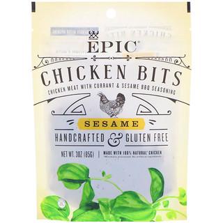Epic Bar, Chicken Bits, Sesame, 3 oz (85 g)