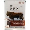 Epic Bar, Bites, Tender Beef Steak, Sweet & Spicy Sriracha, 2.5 oz (71 g)