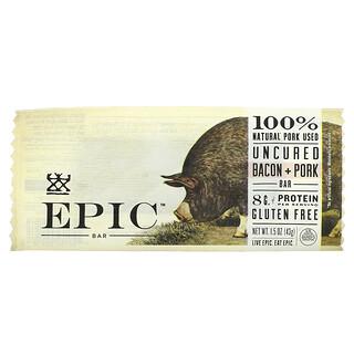 Epic Bar, Uncured Bacon + Pork Bar, 1 Bar, 1.5 oz ( 43 g)