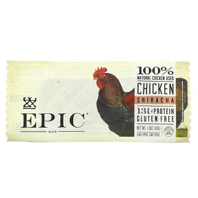 Купить Epic Bar Chicken Sriracha Bar, 1 Bar, 1.5 oz (43 g)