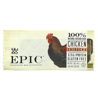 Epic Bar, Chicken Sriracha Bar, 1 Bar, 1.5 oz (43 g)