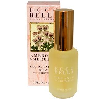 Ecco Bella, Aromatherapy, Eau de Perfum Spray, Ambrosia, 1.0 fl oz (30 ml)