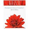 Ecco Bella, Футляр для компактной косметики одноместный, 1 упаковка (Discontinued Item)