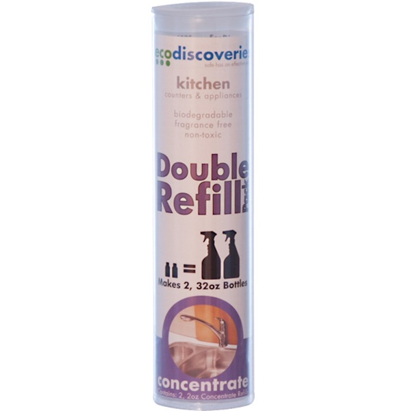 EcoDiscoveries, Kitchen, Counters & Appliances, 2 Refills, 2 fl oz (60 ml) Each (Discontinued Item)