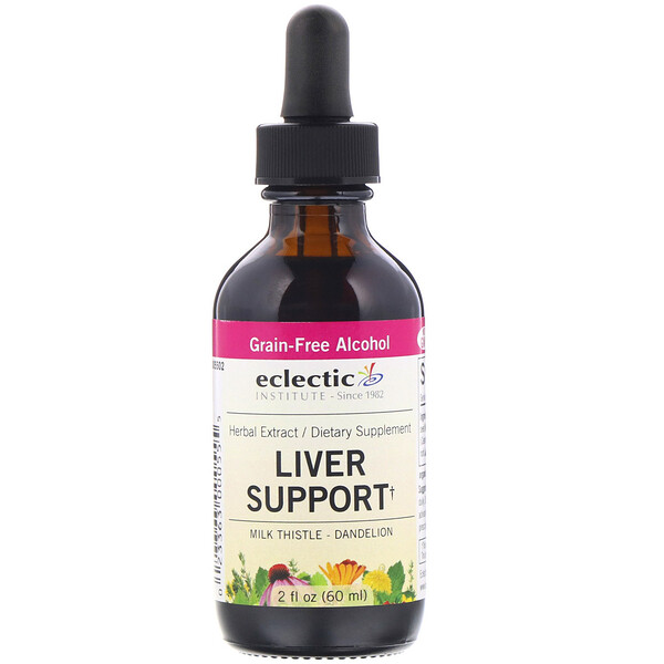 Eclectic Institute, Liver Support, 2 fl oz (60 ml)