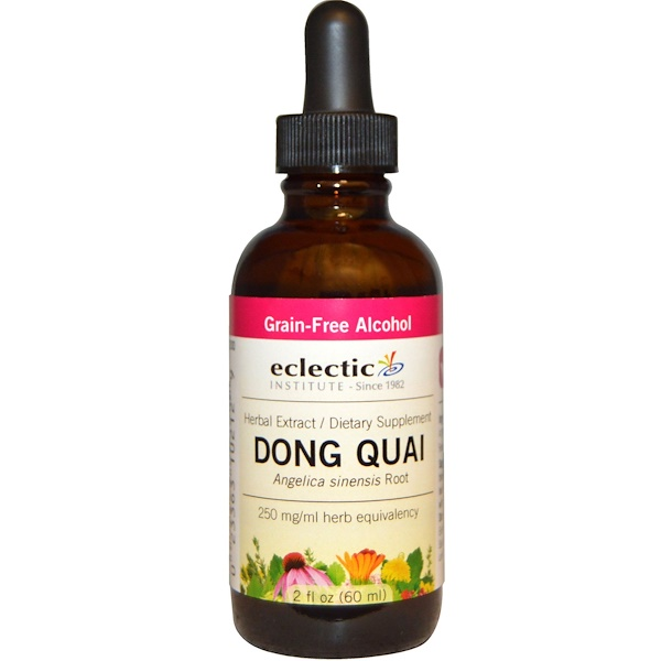 Eclectic Institute, Dong Quai, 2 fl oz (60 ml) (Discontinued Item)