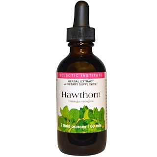 Eclectic Institute, Hawthorn, 2 fl oz (60 ml)
