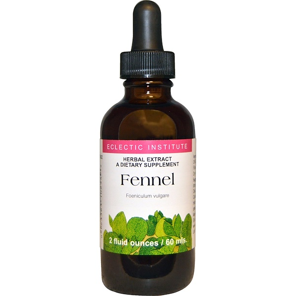 Eclectic Institute, Fennel, 2 fl oz (60 ml) (Discontinued Item)