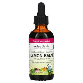 Eclectic Institute, Lemon Balm, 2 fl oz (60 ml)