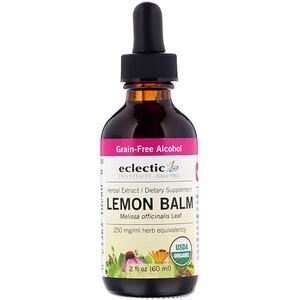 Эклектик Институт, Organic Lemon Balm, 2 fl oz (60 ml) отзывы
