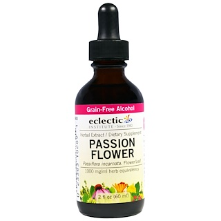 Eclectic Institute, Passion Flower, 2 fl oz (60 ml)