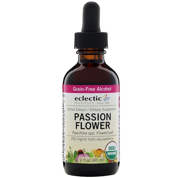 Eclectic Institute, Passion Flower, 2 fl oz (60 ml) (Discontinued Item)