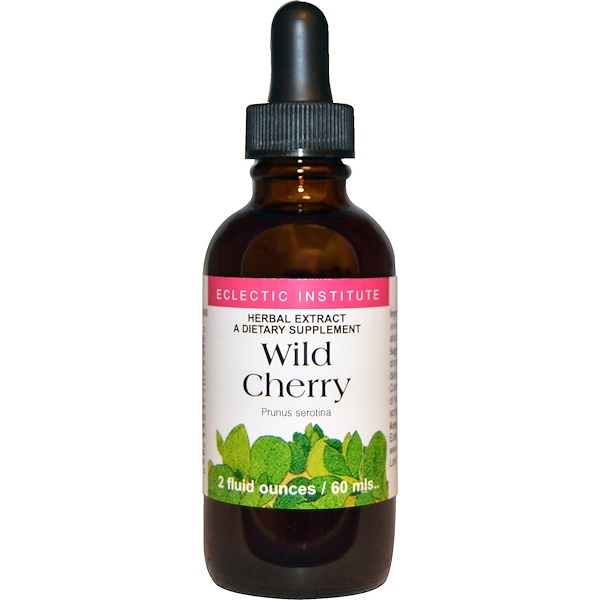 Eclectic Institute, Wild Cherry, 2 fl oz (60 ml) (Discontinued Item)