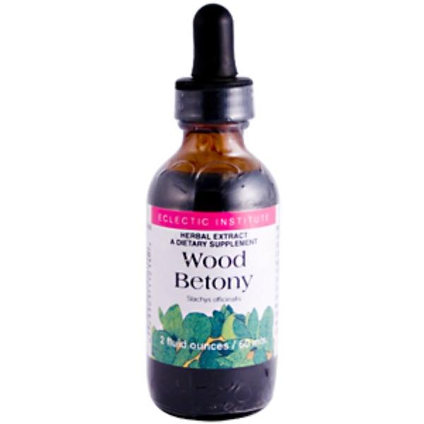 Eclectic Institute, Wood Betony, 2 fl oz (60 ml) (Discontinued Item)
