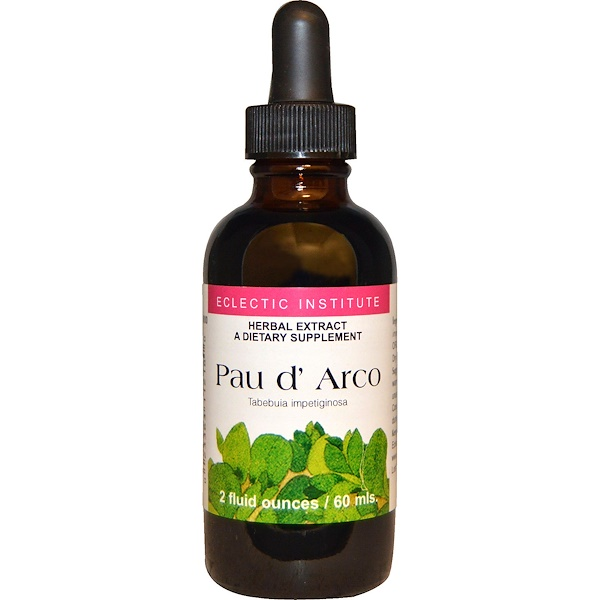 Eclectic Institute, Pau d' Arco, 2 fl oz (60 ml) (Discontinued Item)