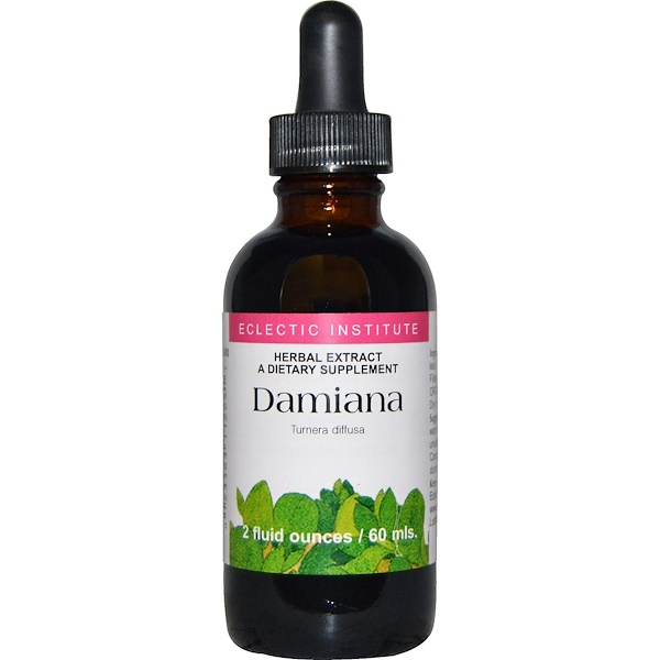Eclectic Institute, Damiana, 2 fl oz (60 ml) (Discontinued Item)