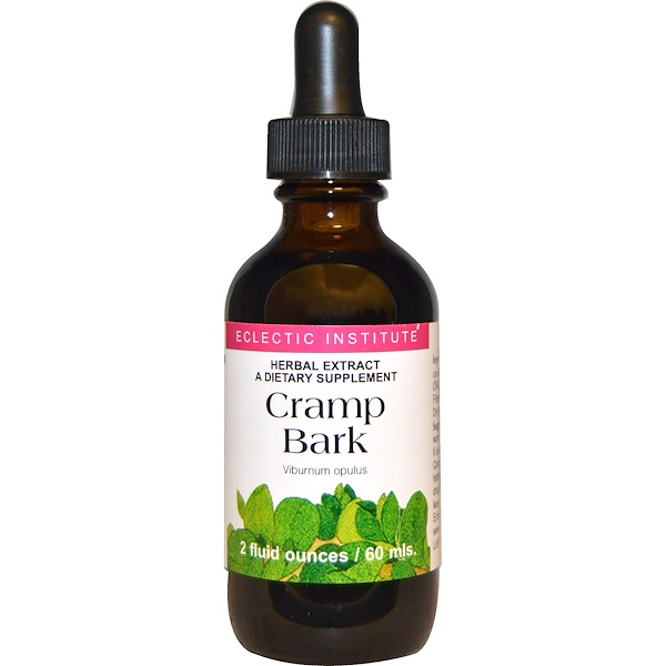 Eclectic Institute, Cramp Bark, 2 fl oz (60 ml)