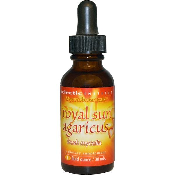 Eclectic Institute, Mycetobotanicals, Royal Sun Agaricus, 1 fl oz (30 ml) (Discontinued Item)