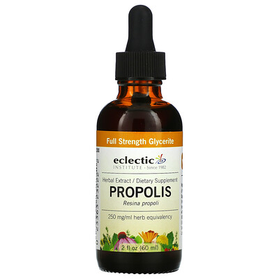 Eclectic Institute Propolis, 250 mg , 2 fl oz ( 60 ml)