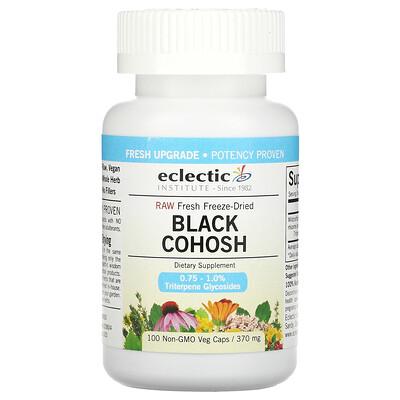 Eclectic Institute Black Cohosh, 370 mg, 100 Non-GMO Veggie Caps