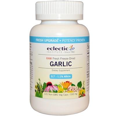 Чеснок, 550 мг, 120 вегетарианских капсул без ГМО