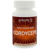 Грибы кордицепса, свежие лиофилизированные, 560 мг, 120 вегетарианских капсул - фото