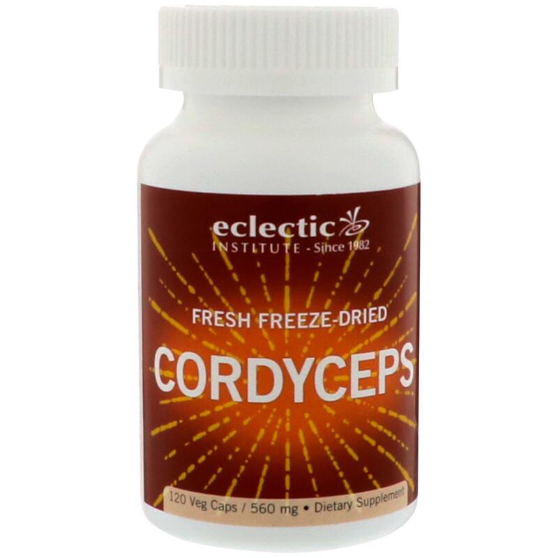 Fresh Freeze-Dried Cordyceps, 560 mg, 120 Veg Caps
