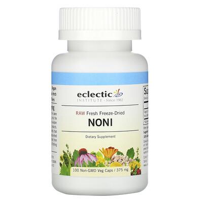 Eclectic Institute Noni, 375 mg, 100 Non-GMO Veg Caps