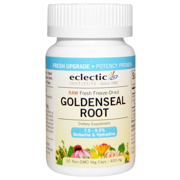 Goldenseal Root, 400 mg, 50 Veg Caps