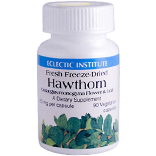 Eclectic Institute, Hawthorn, 200 mg, 90 Veggie Caps (Discontinued Item)
