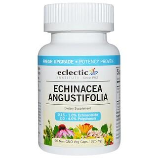 Eclectic Institute, Echinacea Angustifolia, 325 mg, 90 Non-GMO Veggie Caps