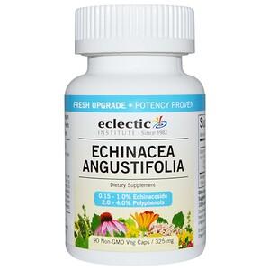 Эклектик Институт, Echinacea Angustifolia, 325 mg, 90 Non-GMO Veg Caps отзывы покупателей