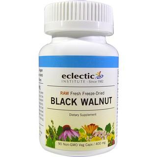 Eclectic Institute, クログルミ, 400 mg, 90粒(ベジタリアンカプセル)