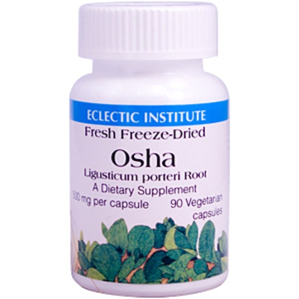 Eclectic Institute, Osha, 500 mg, 90 Veggie Caps (Discontinued Item)