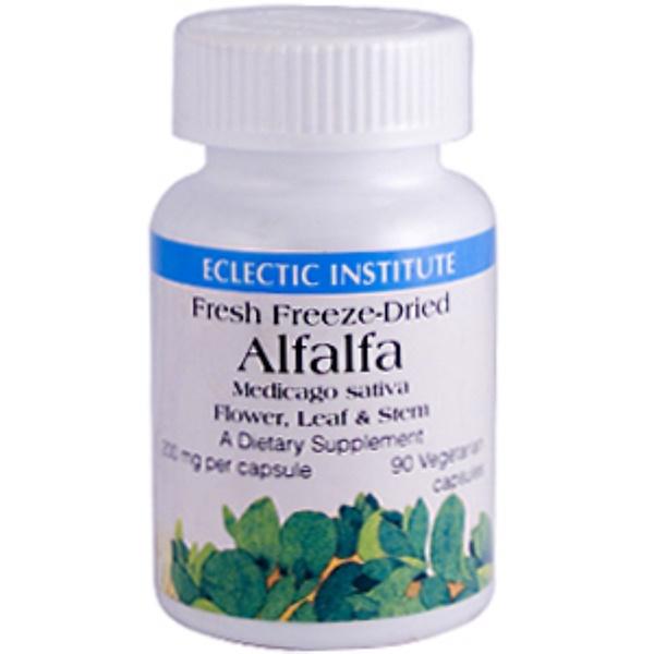 Eclectic Institute, Alfalfa, 200 mg, 90 Veggie Caps (Discontinued Item)