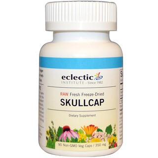 Eclectic Institute, Skullcap, 350 mg, 90 Non-GMO Veggie Caps