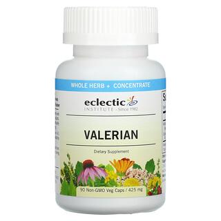 Eclectic Institute, Valerian, 425 mg, 90 Non-GMO Veg Caps