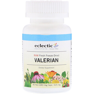 Eclectic Institute, Valerian, 425 mg, 90 Veg Caps