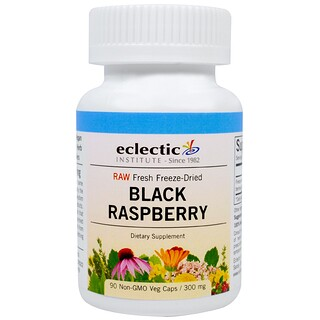 Eclectic Institute, Black Raspberry, 300 mg, 90 Veggie Caps