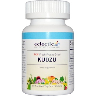 Eclectic Institute, Kudzu, 450 mg, 90 Cápsulas Vegetales