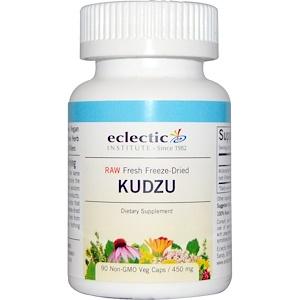 Эклектик Институт, Kudzu, 450 mg, 90 Non-GMO Veggie Caps отзывы