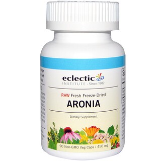 Eclectic Institute, Aronia, 450 mg, 90 Veggie Caps