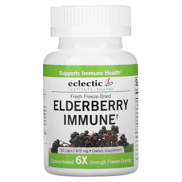 Fresh Freeze-Dried, Elderberry Immune, 475 mg, 90 Caps