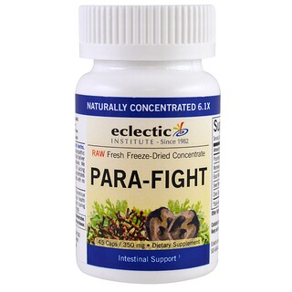Eclectic Institute, Para-Fight, Intestinal Support, 350 mg, 45 Caps